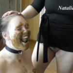 Eat my tasty shit, my happy toilet with Mistress Natalia Kapretti Lesbian Scat porn [FullHD / 2020]