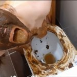 Dirty toilet (part 1) with ScatLina Poo Shit [FullHD / 2020]