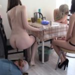 Tea and Chocolate for the toilet slave with MilanaSmelly Scat Porn [FullHD]