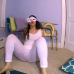 White Tights BUBBLE Guts with LoveRachelle2 Fart Poo [UltraHD/4K]