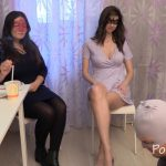 Chocolate lunch from Karina and Kamilla with MilanaSmelly Domination Scat [FullHD]