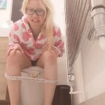 EXTREME Plastic Pants Messing with PooGirlSofia Dirty Blonde Video [FullHD]