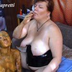 She covered in shit, she my toilet with Mistress Natalia Kapretti Porn [FullHD]