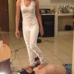 Toilet Slave rolling under the Table Part 5 Valery