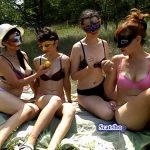 Memories of summer. Video 2 with ModelNatalya94 Lesbian Sex in Nature